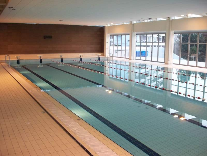 A s caluire natation le club for Piscine caluire
